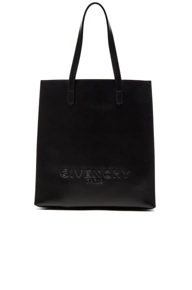 Givenchy Debossed Tote in Black