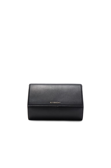 Givenchy Pandora Box Clutch in Black