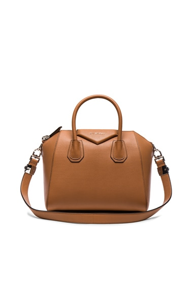 Givenchy Antigona Small Bag in Caramel