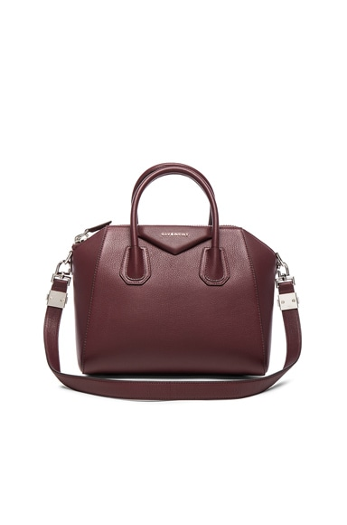 Givenchy Antigona Small Bag in Oxblood