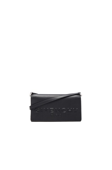 Givenchy Classic Iconic Logo Strap Wallet in Black