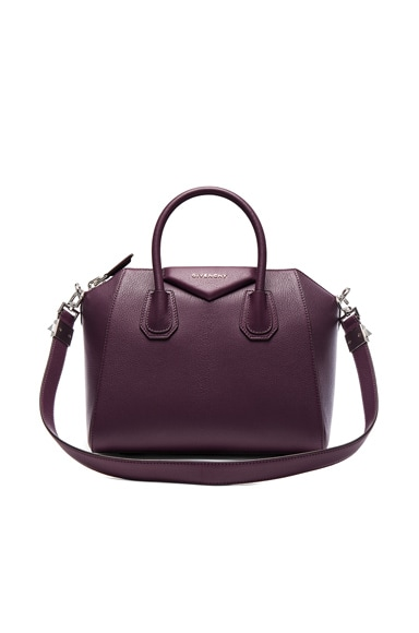 Givenchy Small Sugar Antigona in Dark Purple