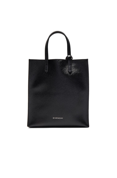 Givenchy Small Stargate Coated Canvas Tote in Black