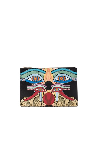 Givenchy Medium Egyptian Eyes Print in Multi