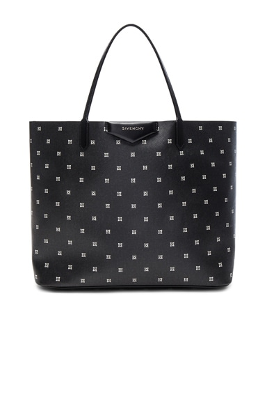 Givenchy Large Mini Lilies Print Antigona Tote in Multicolor