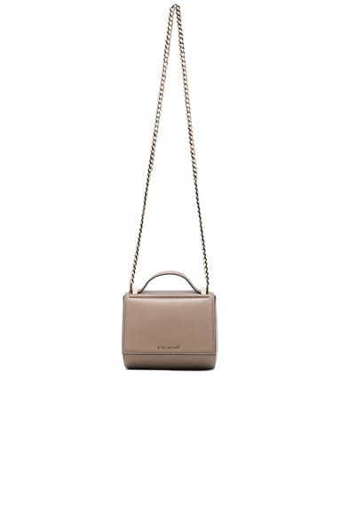 Givenchy Mini Chain Pandora Box in Mastic