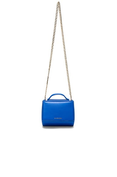 Givenchy Mini Chain Pandora Box in Indigo Blue