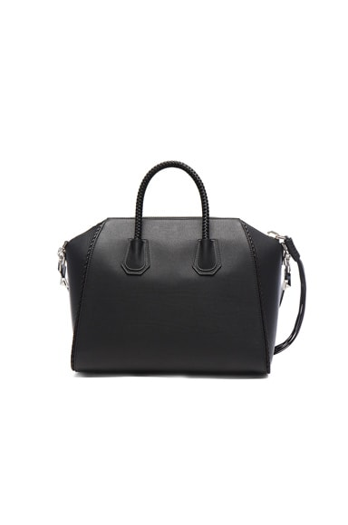 Medium Braided Leather Antigona