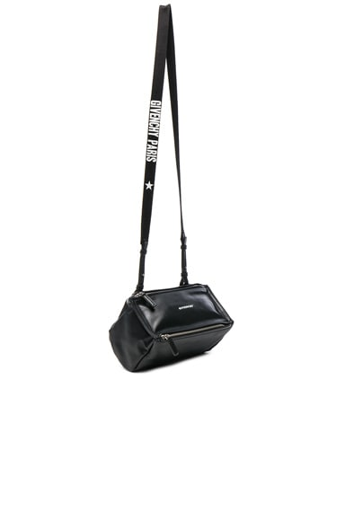 Givenchy Mini Logo Strap Pandora in Black