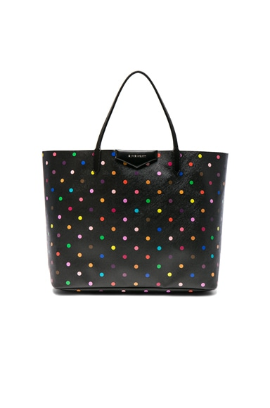 Givenchy Large Printed Antigona Tote in Black & Multi