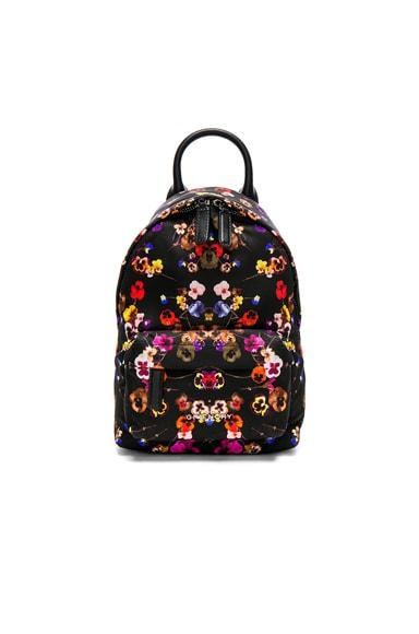 Nano Night Pansies Nylon Backpack Givenchy