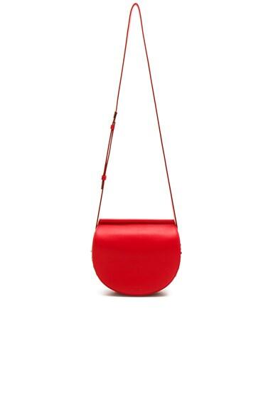 Mini Infinity Smooth Saddle Bag