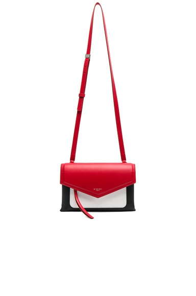 Tri Color Duetto Crossbody Flap Bag