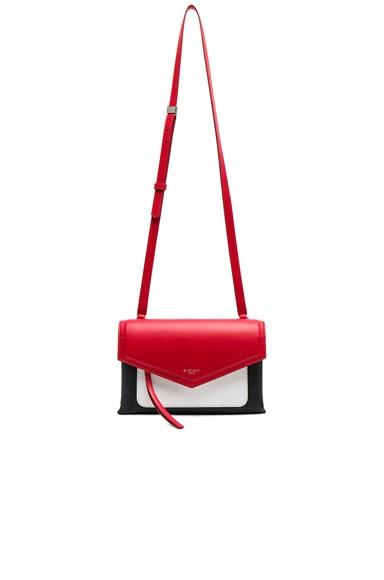 Tri Color Duetto Crossbody Flap Bag
