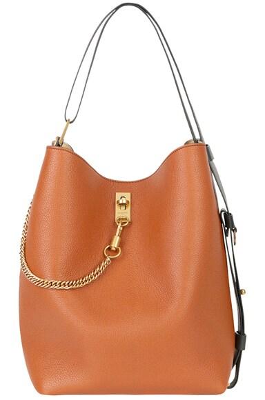 Medium Leather GV Bucket Bag