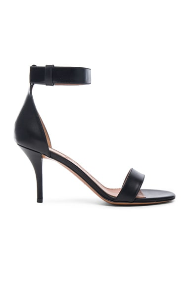 Givenchy Retra Leather Heels in Black