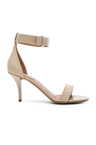 Givenchy Leather Retra Heels in Beige
