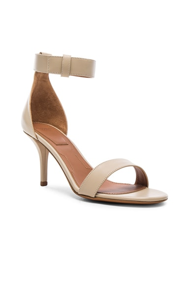 Leather Retra Heels