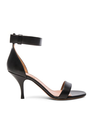 Givenchy Leather Kali Heels in Black
