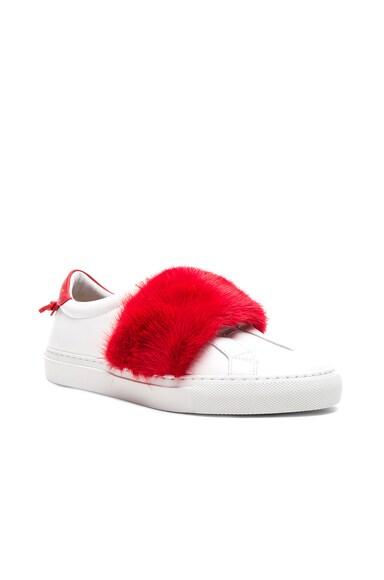 Urban Street Elastic Strap Mink Low Sneaker