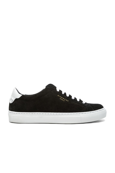Urban Tie Knot Suede & Leather Sneakers