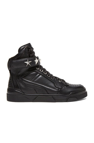 Tyson High Top Leather Sneakers