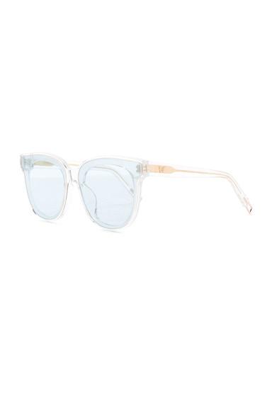 In Scarlet Sunglasses