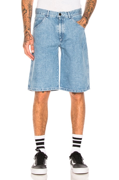 Yin Yang Denim Shorts
