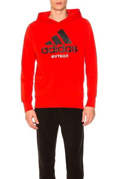 x adidas Hooded Sweatshirt