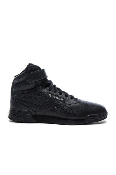 x Reebok Leather Classic High Sneakers