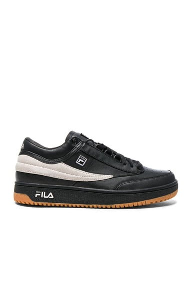 x Fila T1 Mid Leather Sneakers