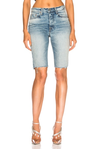 Beverly High Rise Long Cut Off Short