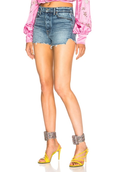 Mardee High Rise Cut Off Short