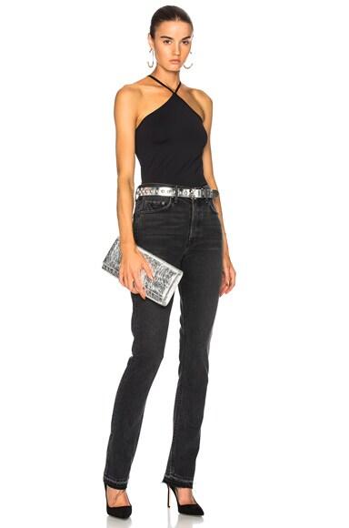 Natalia High Rise Skinny Split Jean