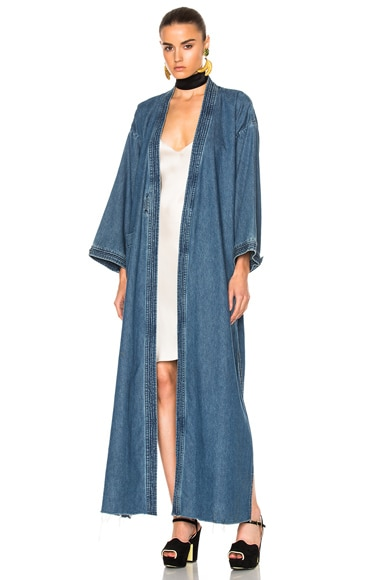 for FWRD Samantha Long Robe