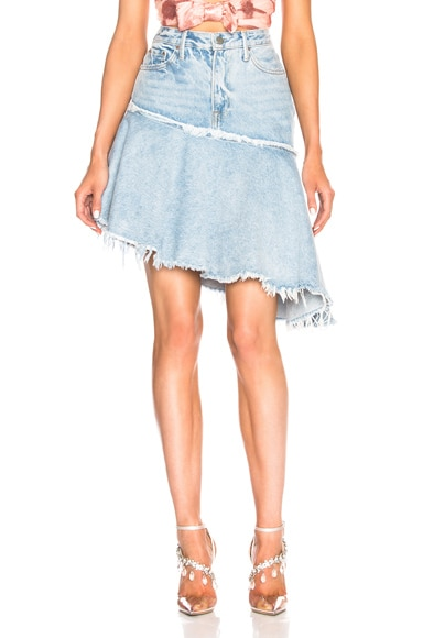 Monica Asymmetrical Ruffle Skirt
