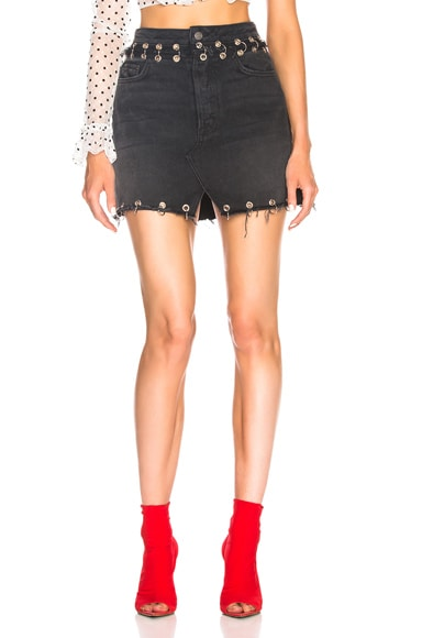 Milla High Rise Denim Skirt