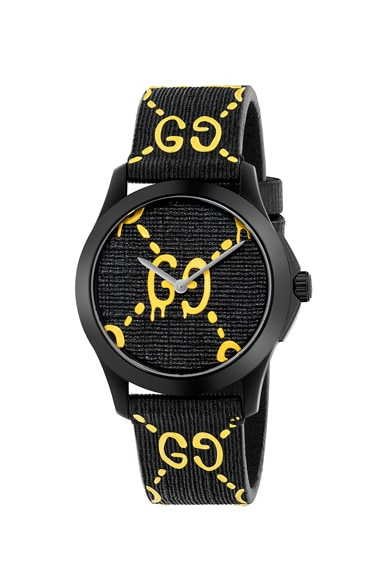 38MM G-Timeless GG Pattern Watch