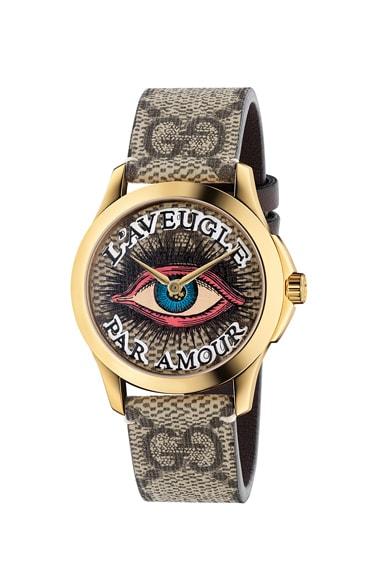 38MM G-Timeless Eye Motif Watch