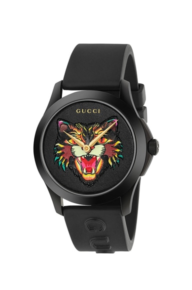 38MM G-Timeless Angry Cat Watch