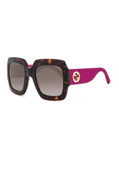 Pop Glitter Sunglasses