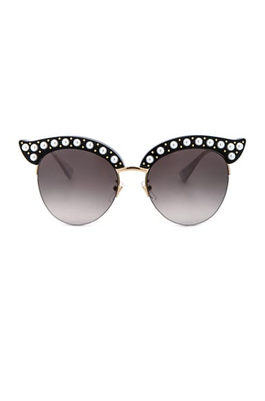Opulent Luxury Pop Glitter Sunglasses