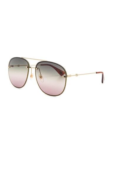 Urban Web Block Colored Profile Sunglasses