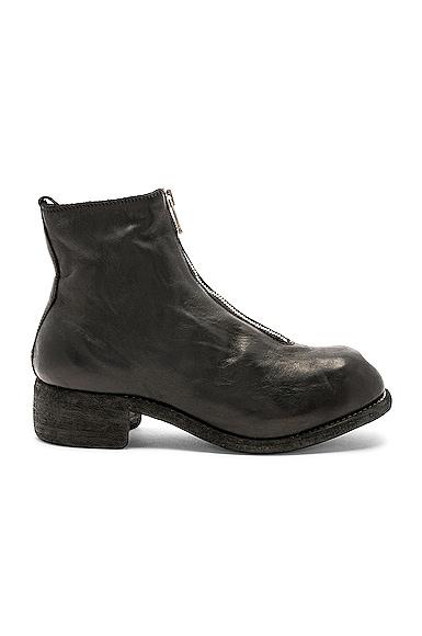 Soft Horse Full Grain Front Zip Boots