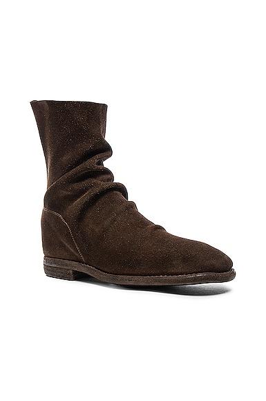 Calf Suede Boots