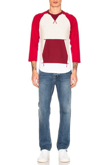 Cotton Pile Lined T-Shirt