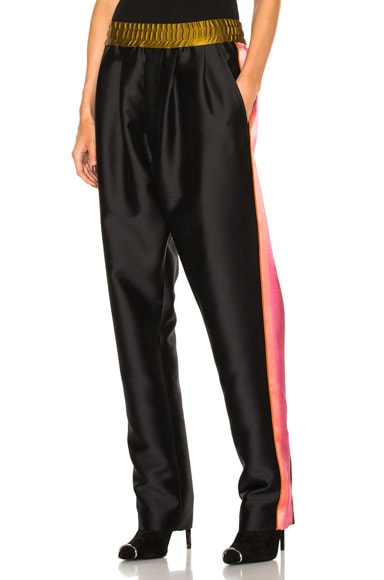 Haider Ackermann Elastic Waistband Trousers in Black
