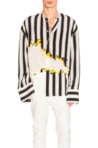 Haider Ackermann Oversized Shirt in Stripe