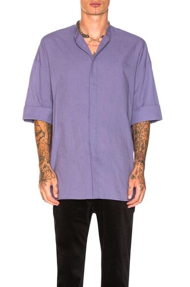 Short Sleeved Oversized Shirt