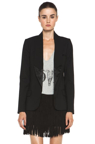 The Perfect Sexy Tuxedo Blazer